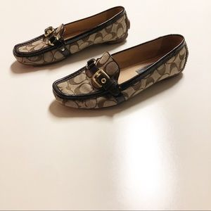 Coach Stacie Driving Loafer Brown Size 8.5